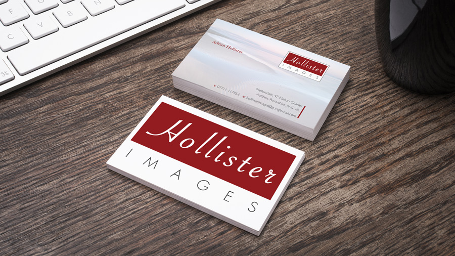 Glenn jenner portfolio graphic design web design and business card and stationary hollister images business card reheart Gallery